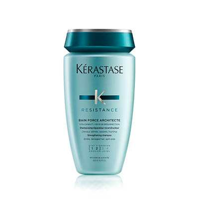 Kerastase Resistance Bain Force Architecte σαμπουάν ταλαιπωρημένα μαλλιά