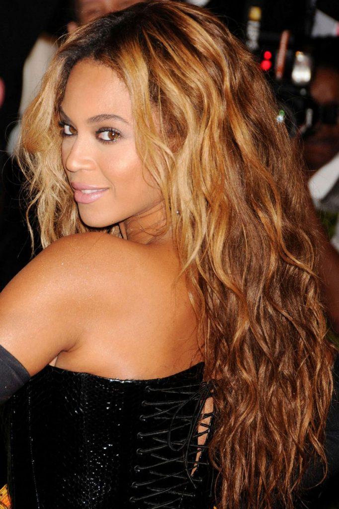 Beyonce τεχνική Ombre για μαλλιά