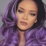 Rihanna τεχνική Ombre για μαλλιά