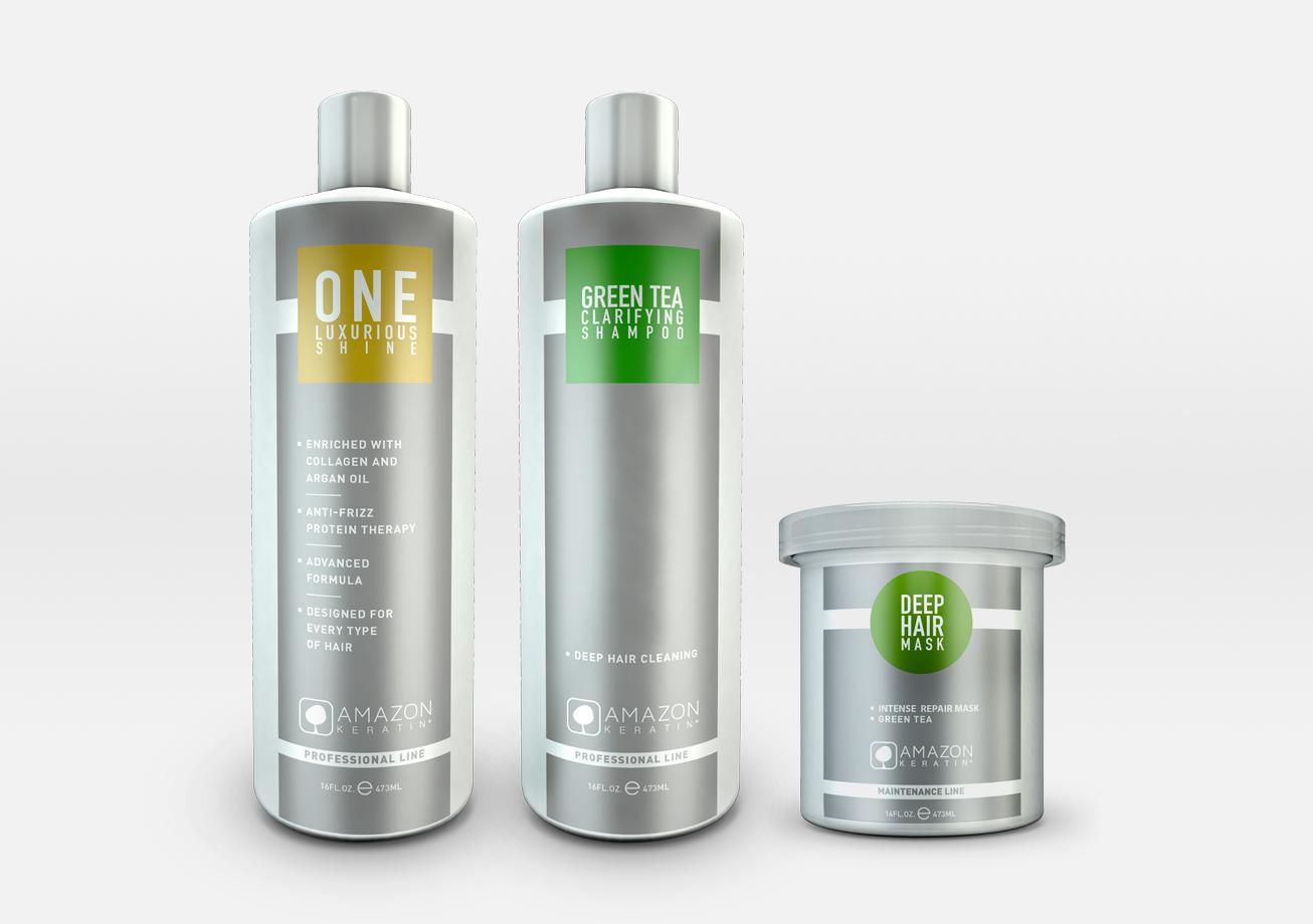 Amazon Keratin Treatment - Περιποίηση λείανσης κερατίνης για μαλλιά